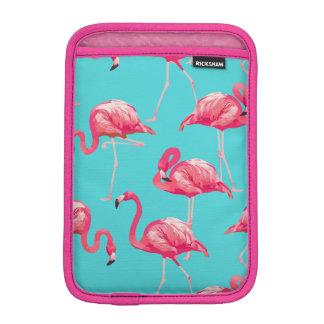 Housse iPad Mini Oiseaux roses de flamant sur l'arrière - plan de