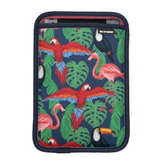 Housse iPad Mini Oiseaux tropicaux dans des couleurs lumineuses