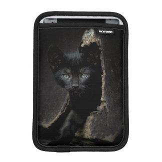 Housse iPad Mini Petit Kitty noir