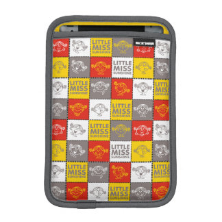 Housse iPad Mini Petite Mlle Sunshine motif rouge et jaune de |