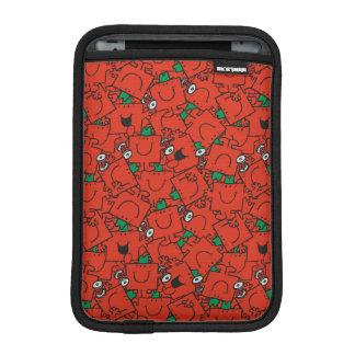Housse iPad Mini Poids de levage de M. Strong | rouges et motif
