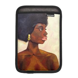 Housse iPad Mini Portrait africain de femme de juin