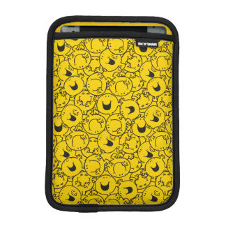 Housse iPad Mini Série de M. Happy | de motif de sourires de jaune