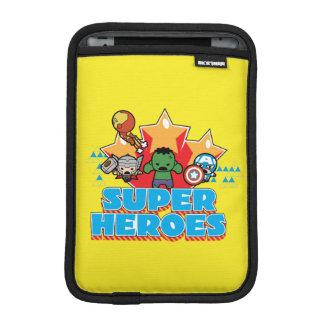 Housse iPad Mini Superhéros de vengeur de Kawaii graphiques