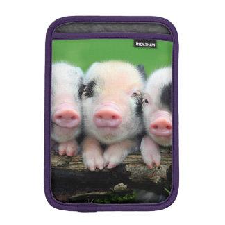 Housse iPad Mini Trois petits porcs - porc mignon - trois porcs