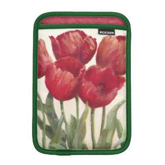 Housse iPad Mini Tulipes rouges