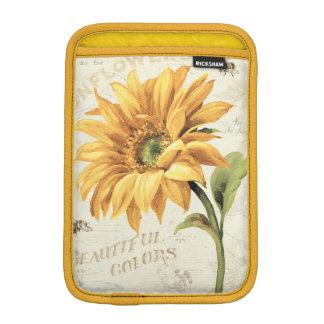 Housse iPad Mini Un tournesol en pleine floraison