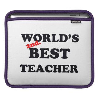 Housse iPad Monde 2ème. Le meilleur professeur