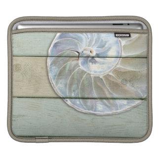 Housse iPad Nautilus Shell