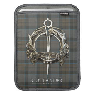 Housse iPad Outlander | la broche de clan du Mackenzie