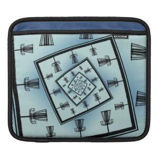 Housse iPad Paniers de rotation de golf de disque