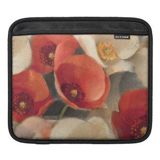 Housse iPad Pavots en pleine floraison