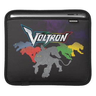 Housse iPad Remplissage de lions de Voltron |