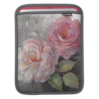 Housse iPad Roses sur le gris