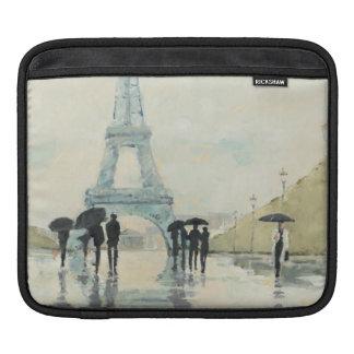 Housse iPad Tour Eiffel | Paris sous la pluie
