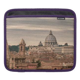 Housse iPad Vue aérienne de Rome de Monte Pincio visitant le