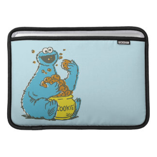 Housse Macbook Air Cru de monstre de biscuit