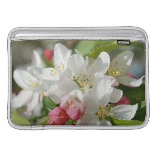 Housse Macbook Air Douille d'air de MacBook de fleurs de fleurs