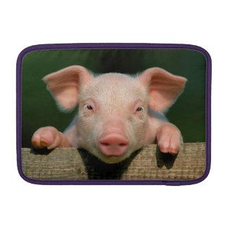 Housse Macbook Air Ferme de porc - visage de porc