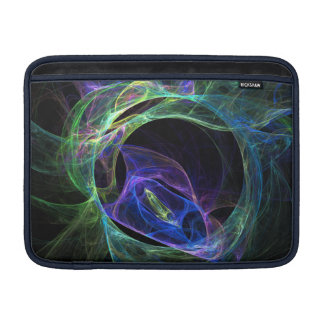 Housse Macbook Air Fractale d'énergie