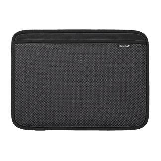 Housse Macbook Air Graphite micro noir et gris de fibre de carbone