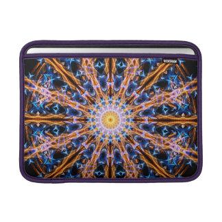 Housse Macbook Air Mandala d'étoile d'alchimie