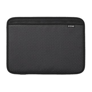 Housse Macbook Air Polymère noir et gris de fibre de carbone