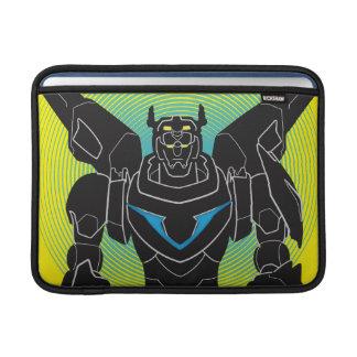 Housse Macbook Air Silhouette noire de Voltron | Voltron