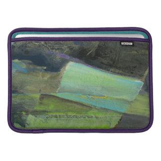 Housse Macbook Air Vue de la copie | abstraite de la côte II