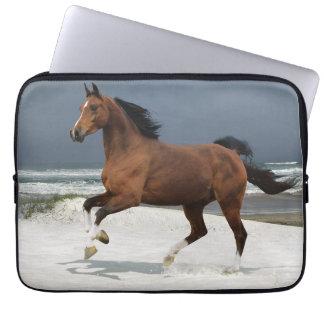 Housse ordinateur 13 pouces déco cheval