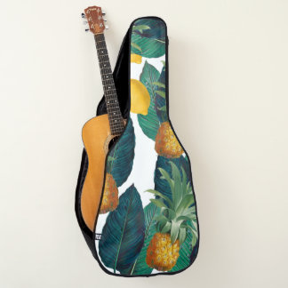 Housse Pour Guitare blanc de pineaple et de citron