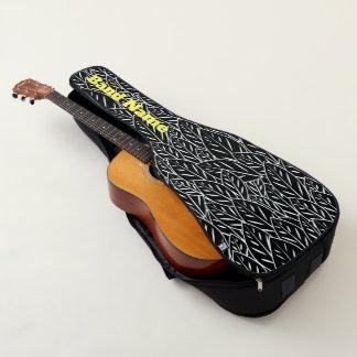 Housse Pour Guitare Feuille indigène de B&W Flora