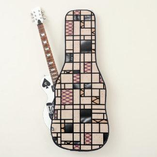 Housse Pour Guitare Filets d'art moderne et caisse de guitare de motif