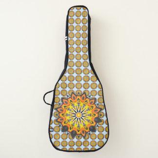 Housse Pour Guitare Mandala-Jaune
