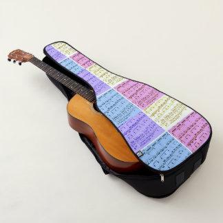 Housse Pour Guitare Musique de feuille d'art de bruit