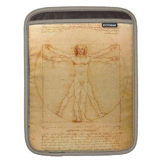 Housse Pour iPad Anatomie humaine, homme de Vitruvian par Leonardo