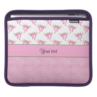Housse Pour iPad Arcs romantiques de rose et damassé assez rose