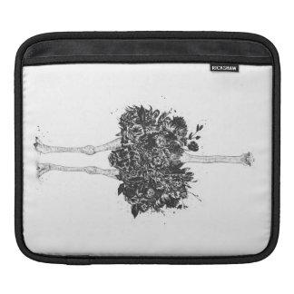 Housse Pour iPad Autruche florale