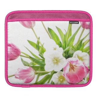 Housse Pour iPad Bouquet de tulipes de ressort