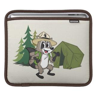 Housse Pour iPad Campout américain de Rick | de garde forestière