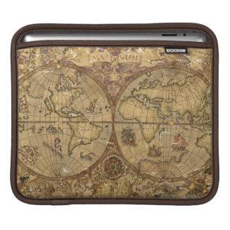 Housse Pour iPad Carte vintage du monde