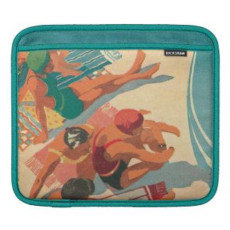Housse Pour iPad Club de plage de paradis