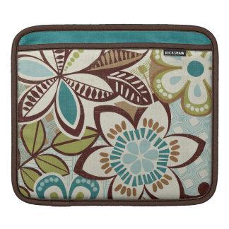 Housse Pour iPad Conceptions florales modernes