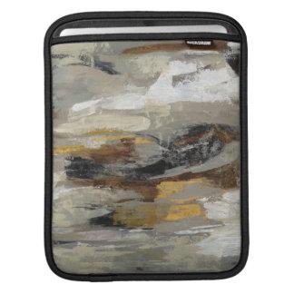 Housse Pour iPad Copie grise abstraite | Silvia Vassileva de neutre