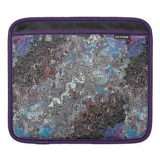 Housse Pour iPad Courant chaotique de couleurs