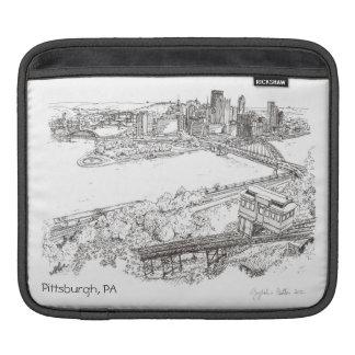 Housse Pour iPad Douille d'iPad de Pittsburgh