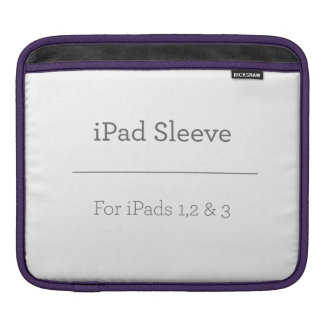 Housse Pour iPad Douille personnalisée d'iPad