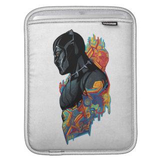 Housse Pour iPad Graffiti de tribal de panthère noire de la