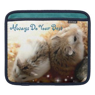 Housse Pour iPad Hammyville - le hamster mignon font toujours votre