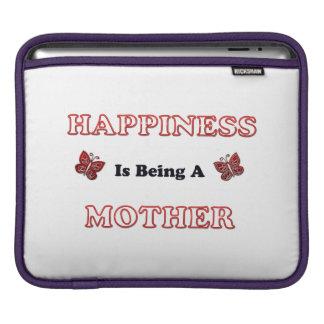 Housse Pour iPad Le bonheur est une mère